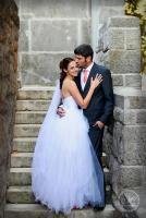 esküvői fotó a Budai Várban