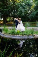 esküvői kreatív páros fotó