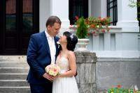 esküvői páros fotó Szentendre