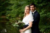 esküvői páros fotó