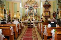 Templomi esküvői szertartás