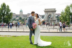 esküvői fotó Lánchíd