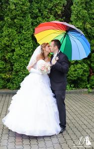 esős esküvő