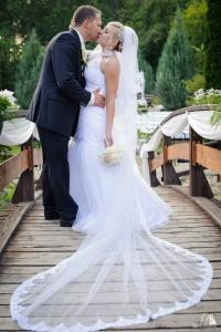 esküvői fotó fátyol